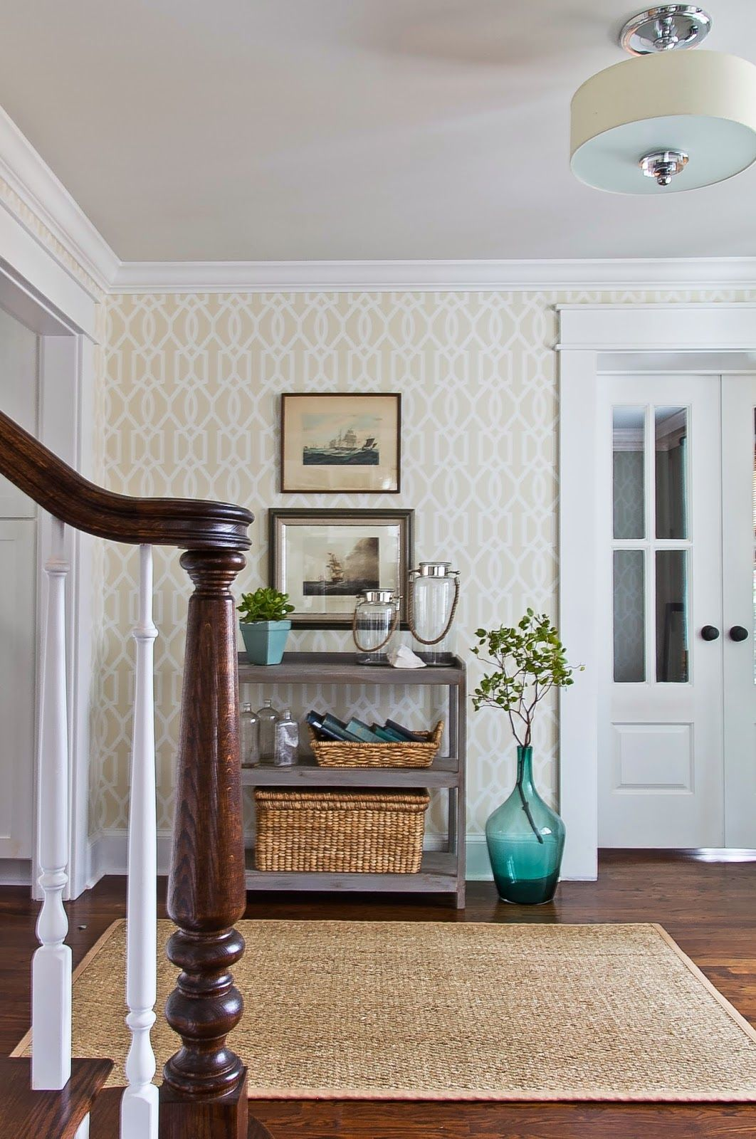 How To Separate A Room Without A Wall 10 Ways To Fake An Entryway Entryway Decorating Tips