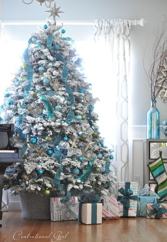 30 Decorated Christmas Tree Ideas - Pictures of Christmas Tree