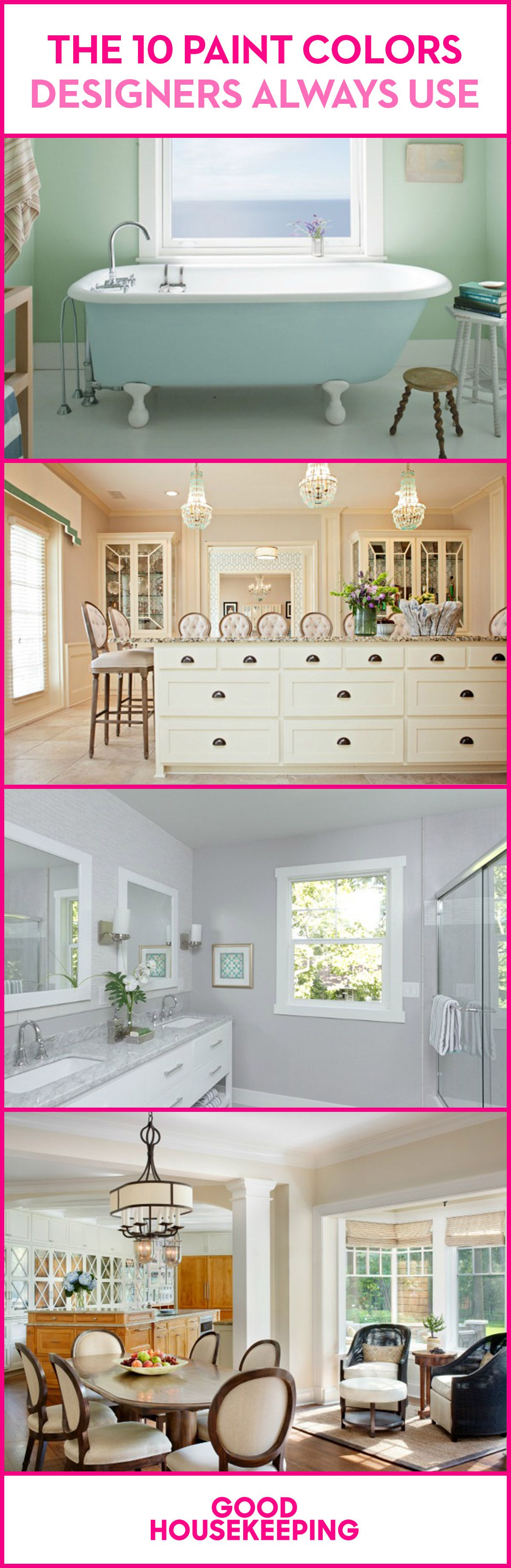 12 Best Paint Colors Interior Designers Favorite Wall Paint Colors