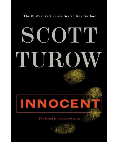 Presumed Innocent Book ophion - Presumed Innocent Author