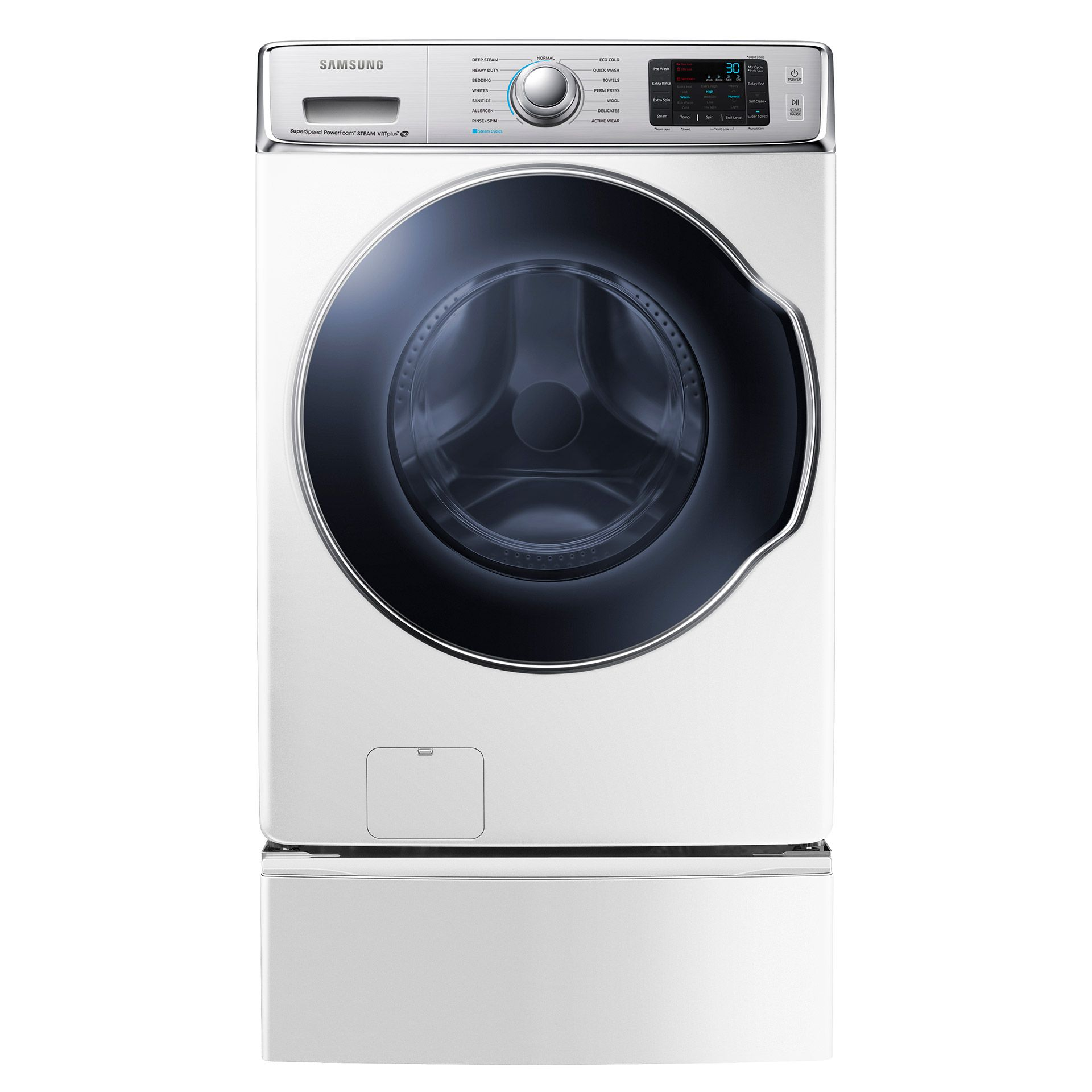 Samsung Front Load Washer Samsung 5 6 Cu Ft Front Load Steam Washer Wf56h9100ag Review