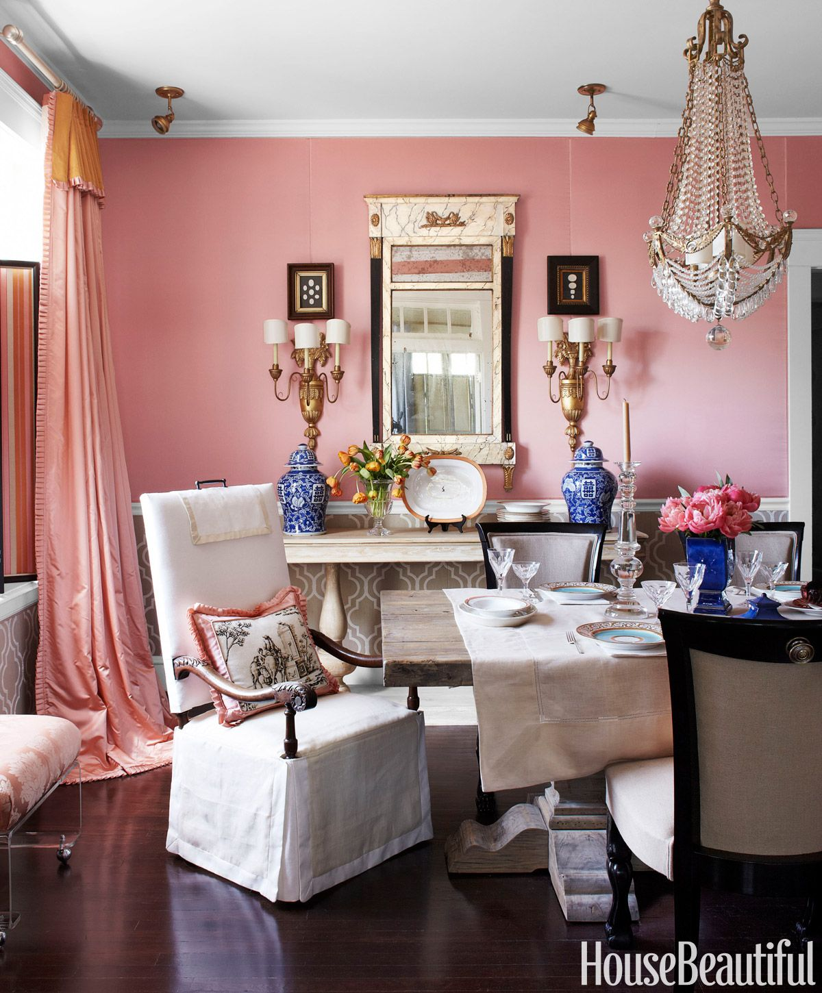 Pink Living Room Curtains Pink Rooms Ideas For Pink Room Decor And Designs