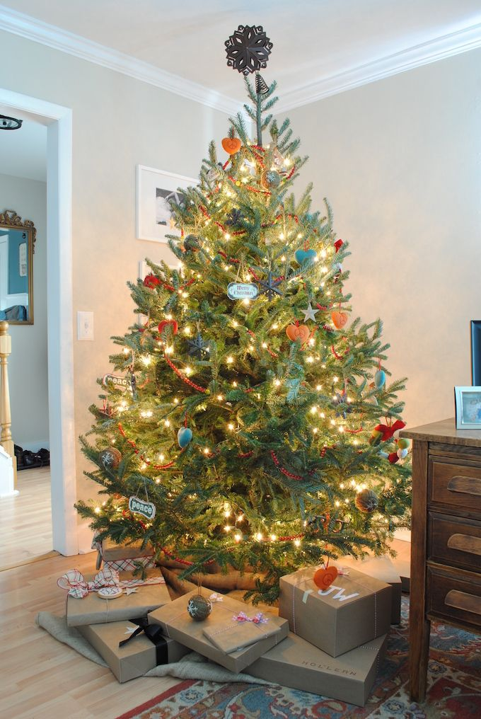 37 Christmas Tree Decoration Ideas - Pictures of Beautiful - beautiful decorated christmas trees