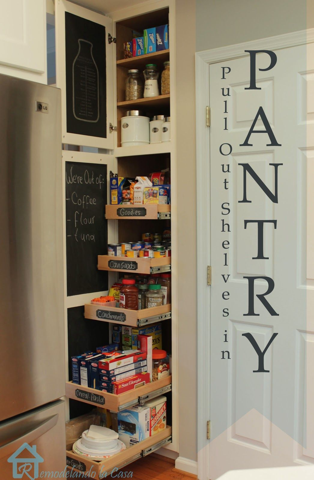 Closet Pantry 20 Pantry Organization Ideas And Tricks How To Organize Your Pantry
