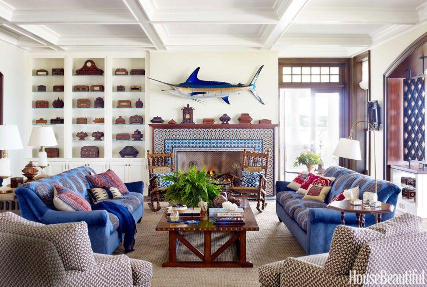Nautical Home Decor - Ideas for Decorating Nautical Rooms - House - nautical bedroom ideas