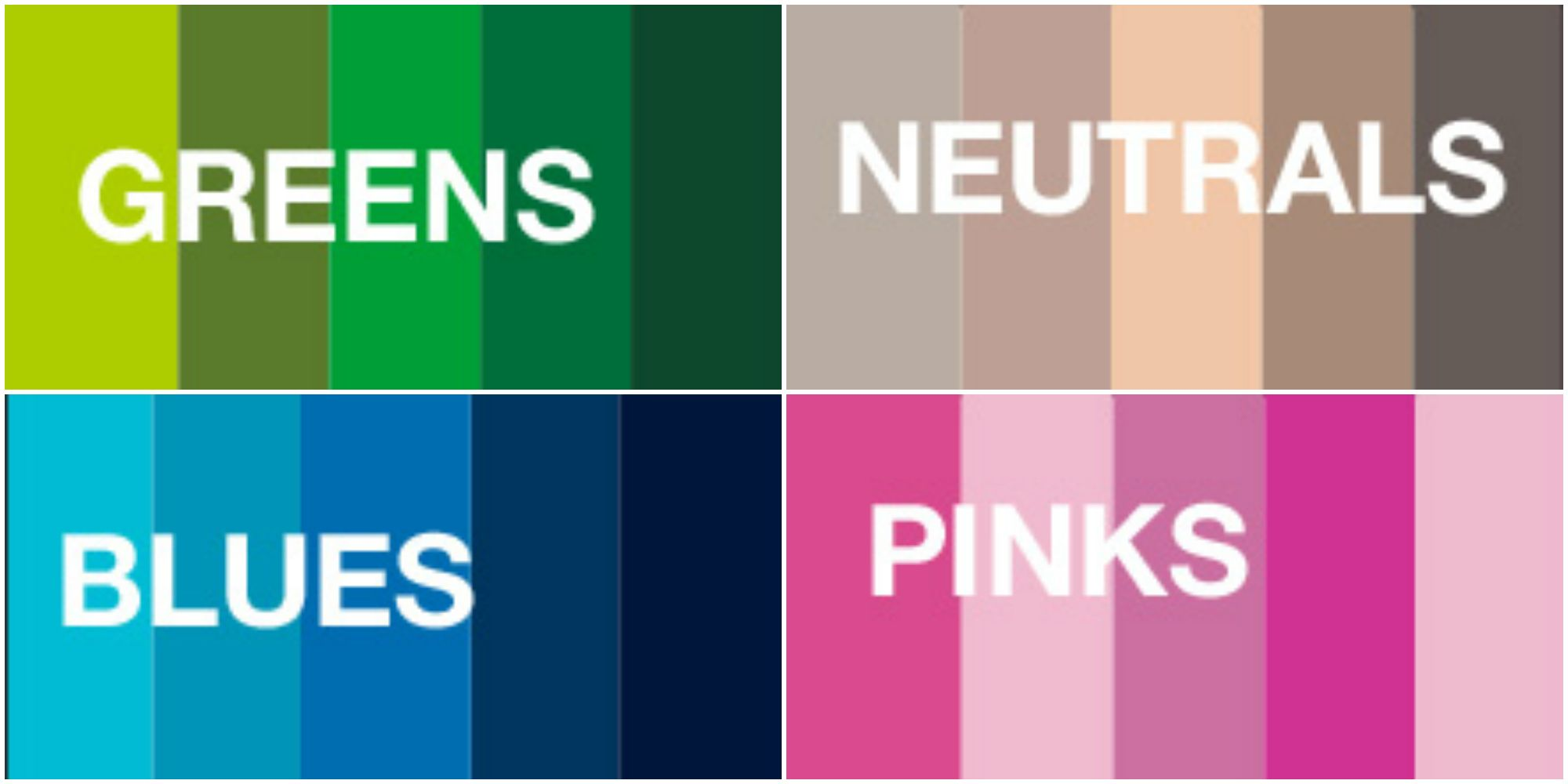 Pantone Color 2016 New Pantone Colors 2016 Color Trends