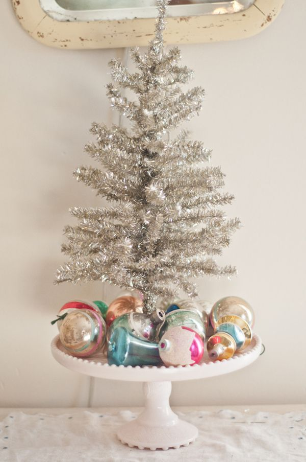 15 Small Christmas Trees Decorated - Ideas for Mini Holiday Trees - small decorated christmas trees