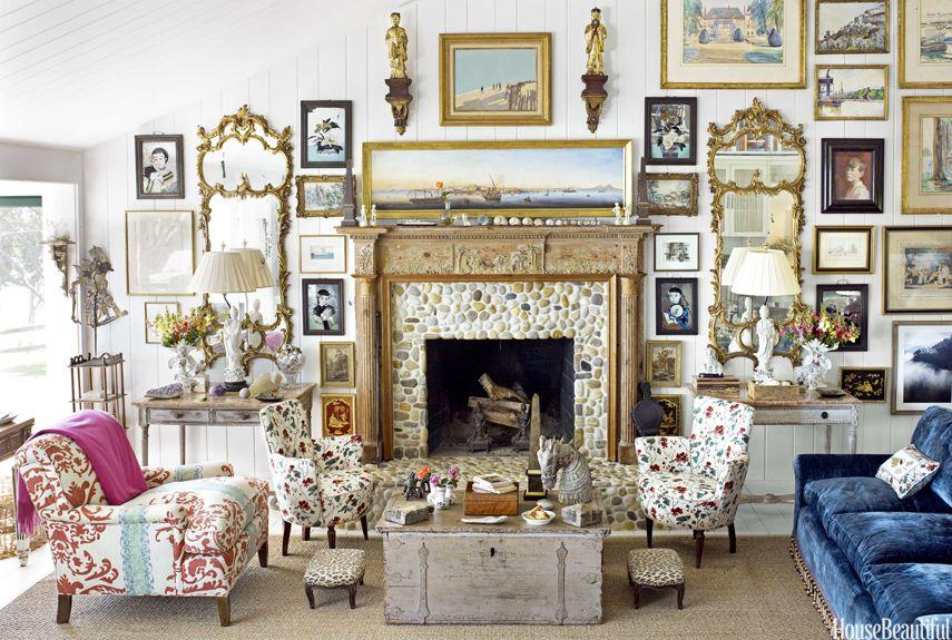21 Easy Home Decorating Ideas - Interior Decorating and Decor Tips - designer home decor