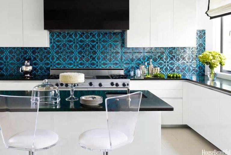 40 Best Kitchen Countertops Design Ideas - Types of Kitchen Counters - kitchen countertop ideas