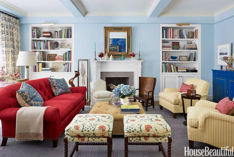 12 Best Living Room Color Ideas - Paint Colors for Living Rooms - living room color combinations