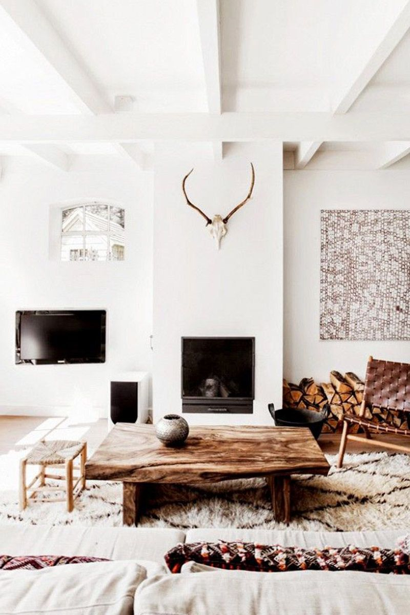 Rustic Walls Interior Rustic Chic Home Decor And Interior Design Ideas Rustic Chic