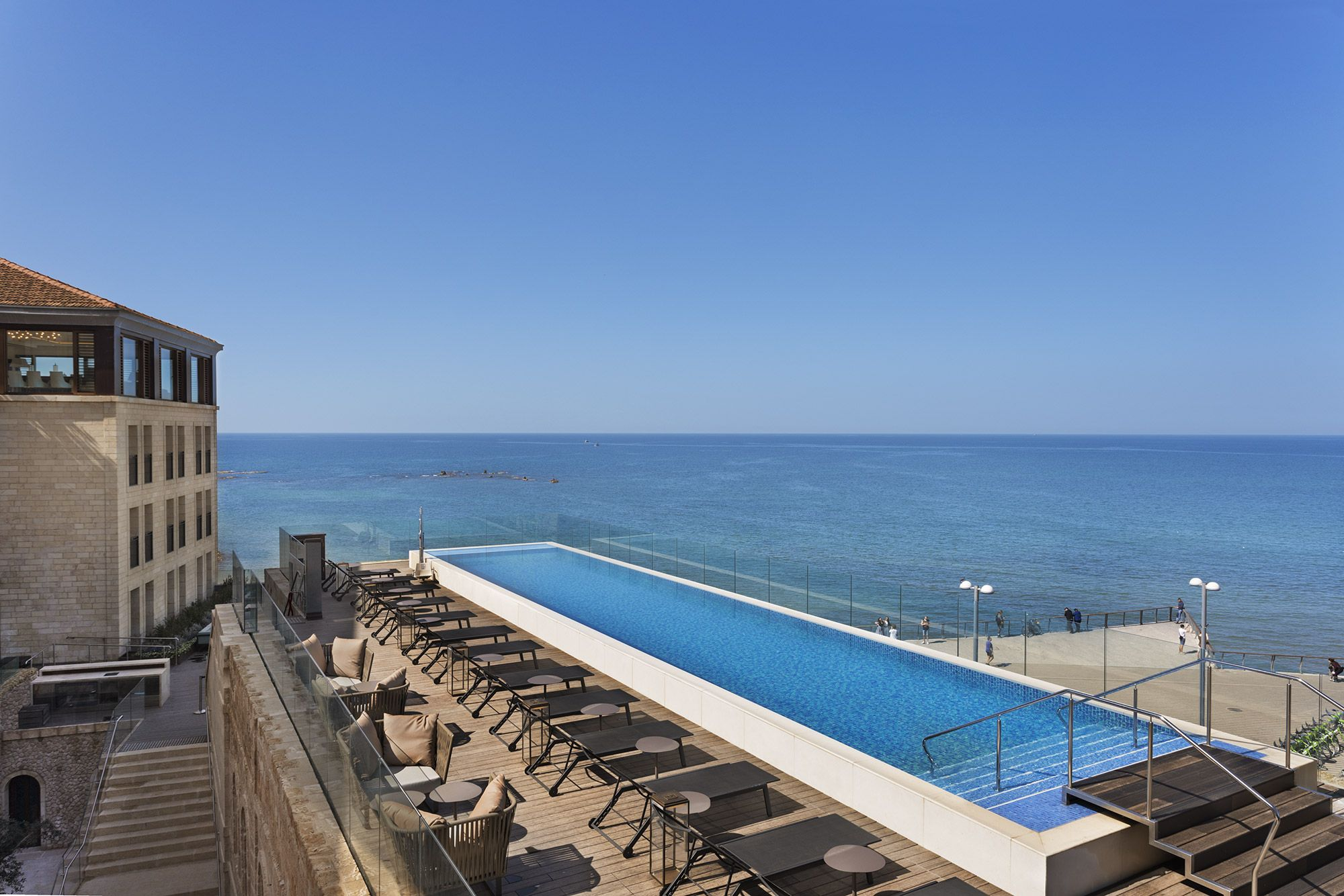 Hotel Tel Aviv Piscine The New Setai Tel Aviv Crusader Castle Turned Luxury Hotel