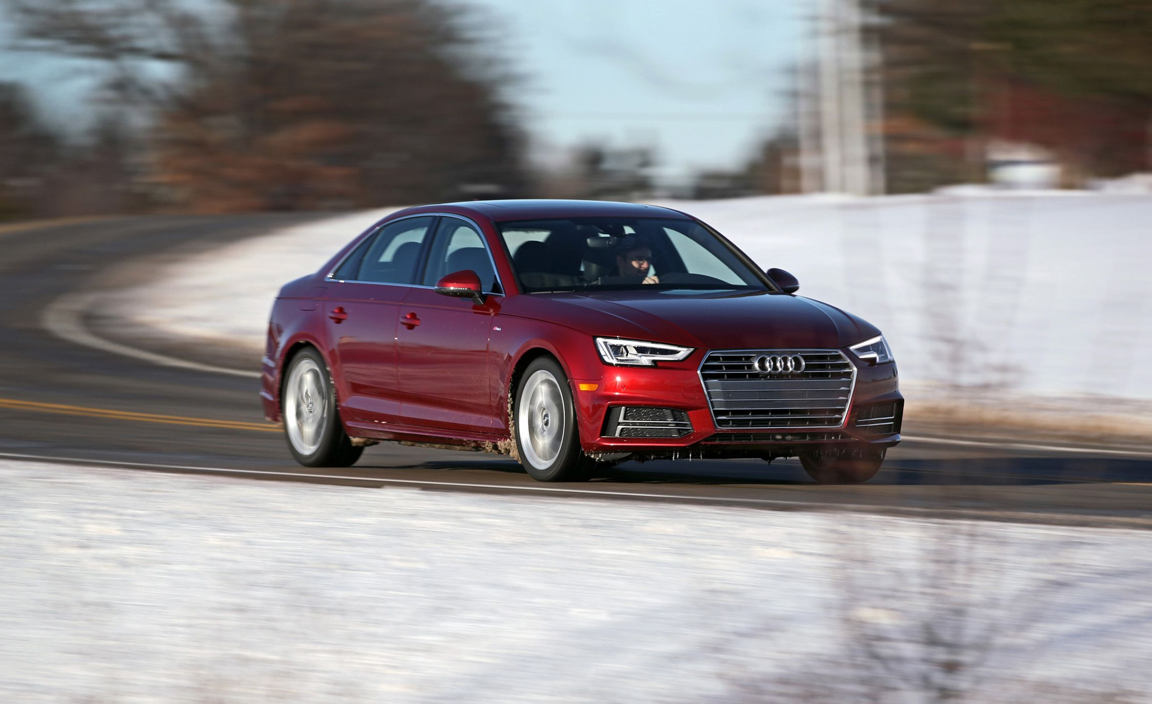 Audi A4 Coupe 2018 Audi A4 2 0t Quattro Manual Test Review Car And Driver