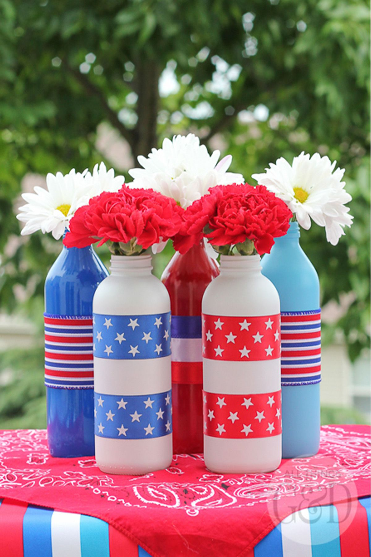 24 Easy 4th Of July Crafts Patriotic Crafts For Fourth Of July
