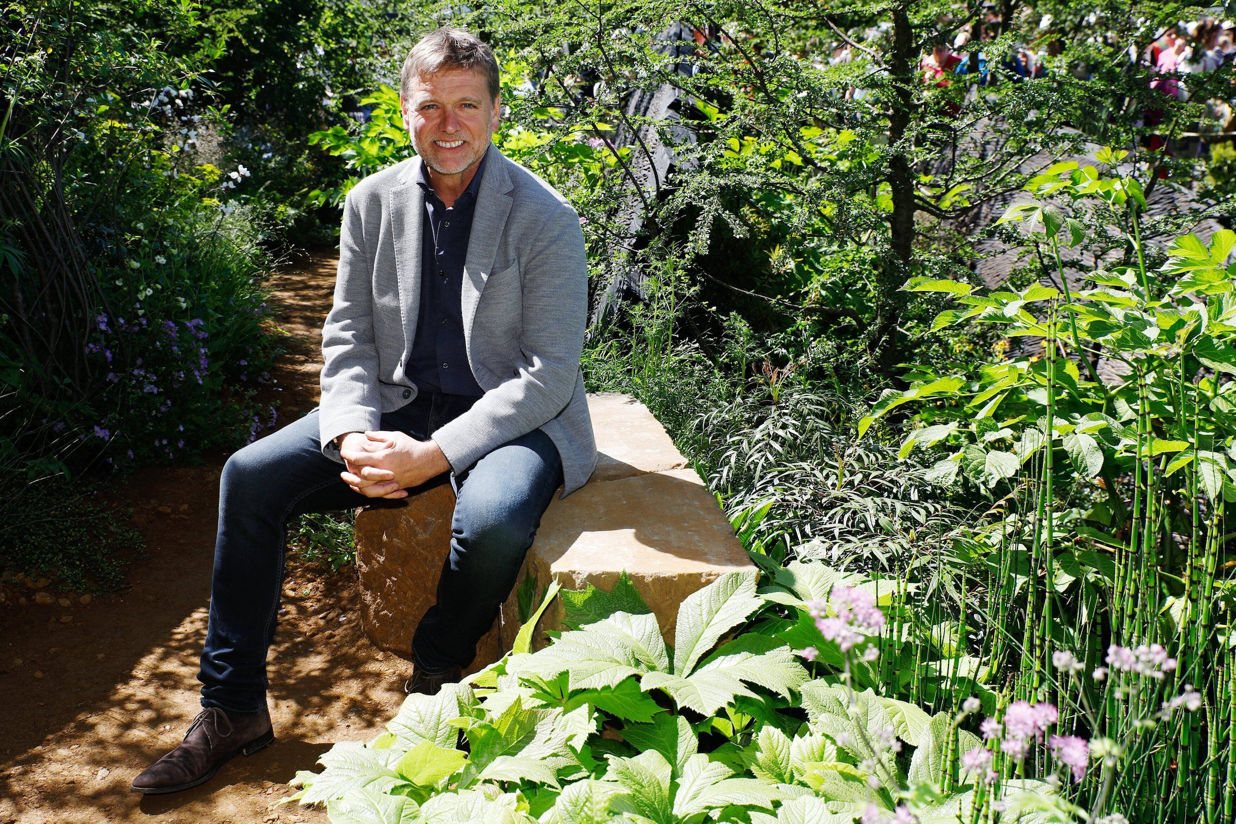 Tour Andy Sturgeon S Small Courtyard Garden At His Brighton Home