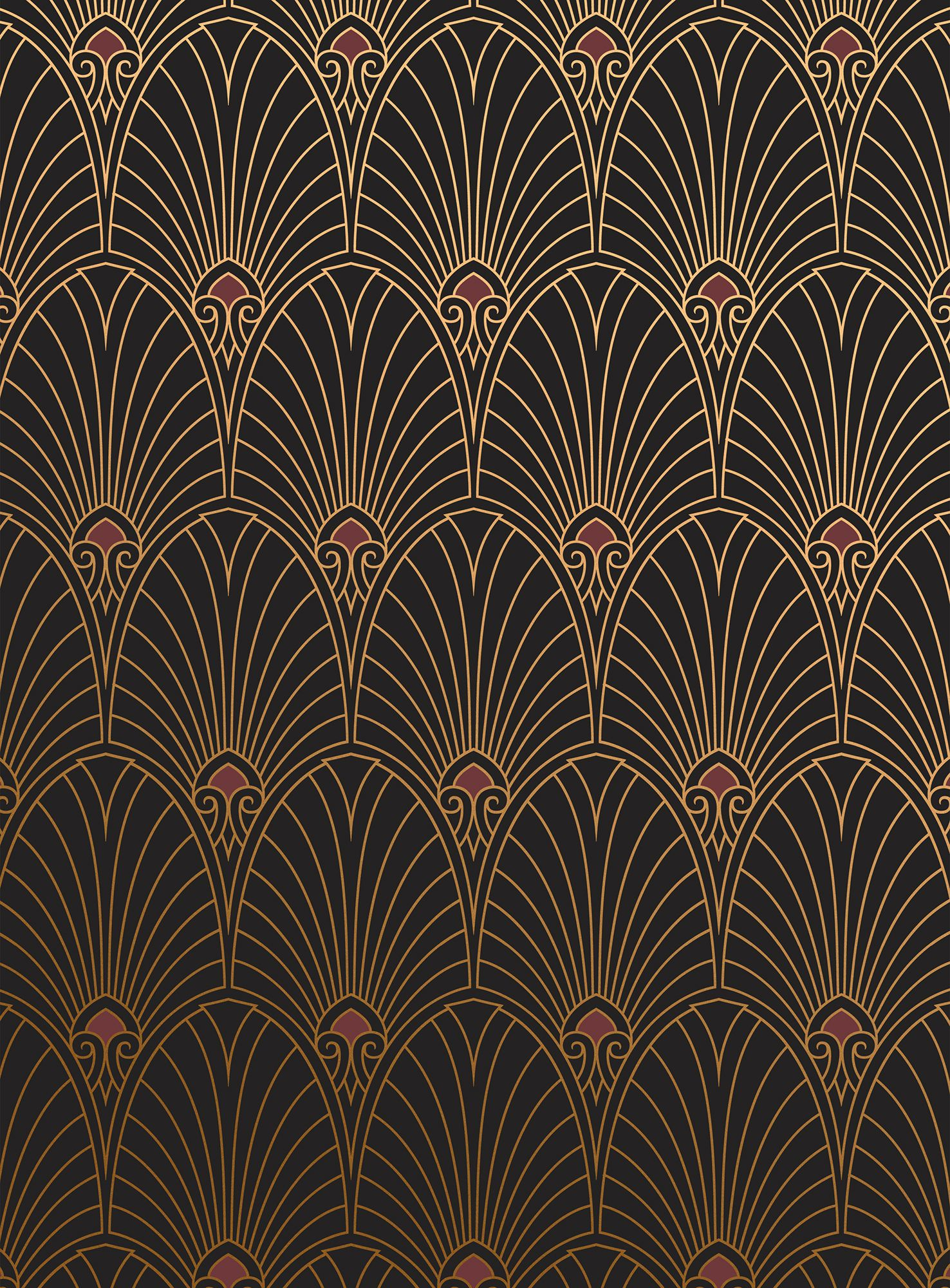 18 Art Deco Wallpaper Ideas - Decorating with 1920s Art Deco Wall Coverings