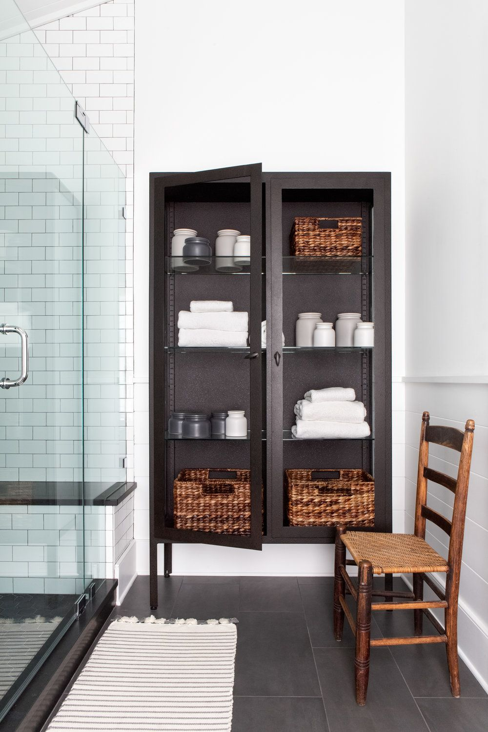 20 Best Bathroom Storage Ideas in 2020 - Creative Bathroom Storage