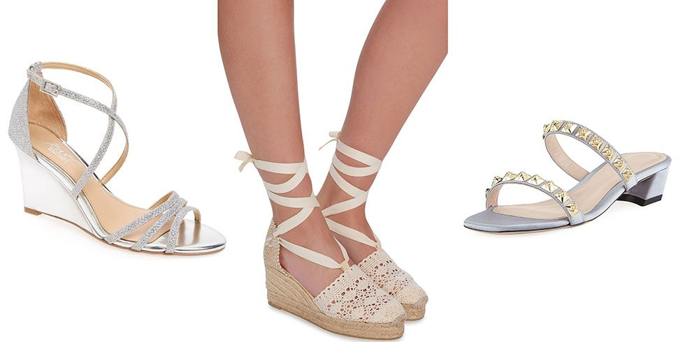 35005ab5c30009 26 Chic Beach Wedding Shoes Sandals And Wedges For Brides