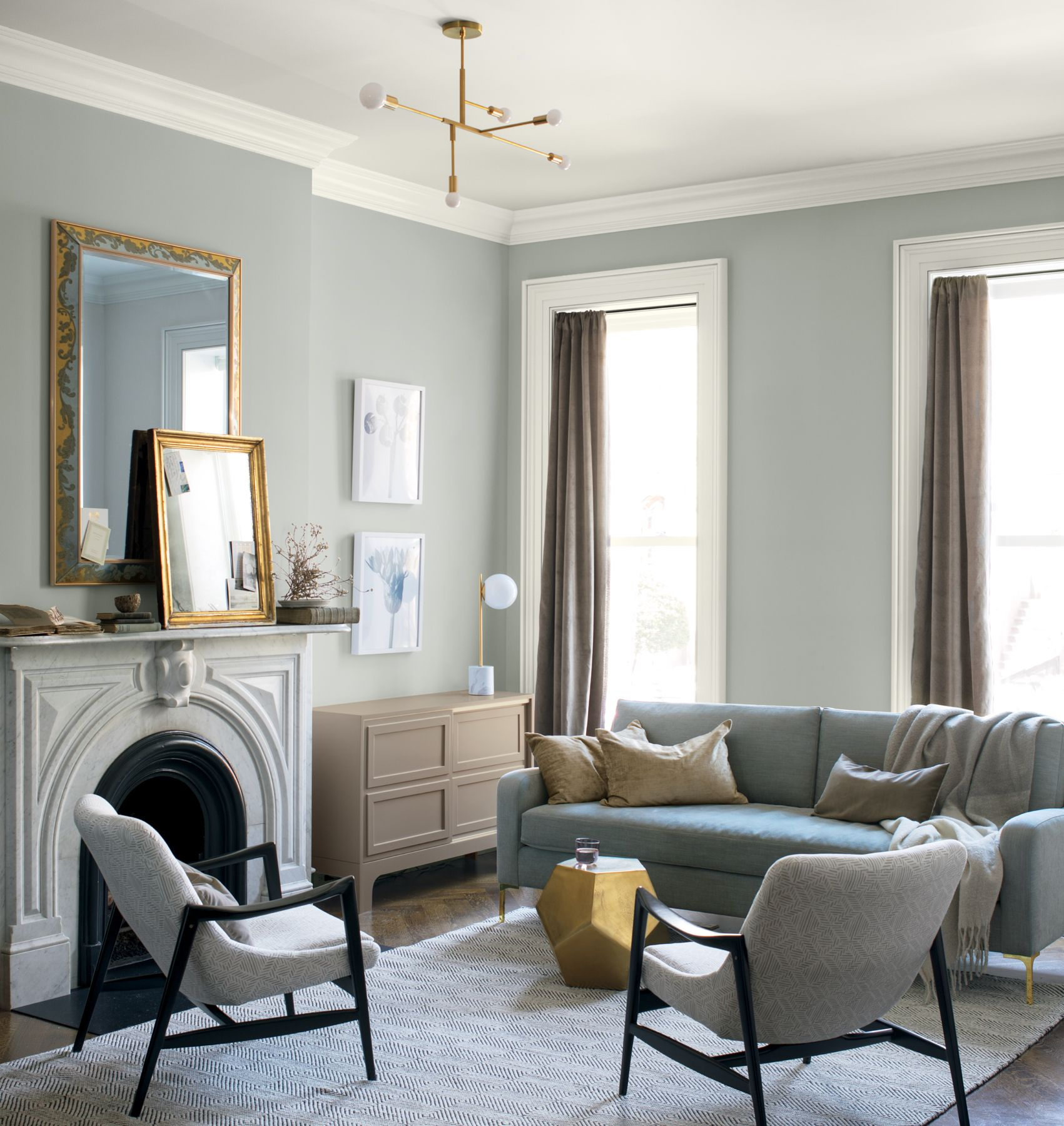 Metropolitan Benjamin Moore Benjamin Moore 2019 Color Of The Year Metropolitan Af 690