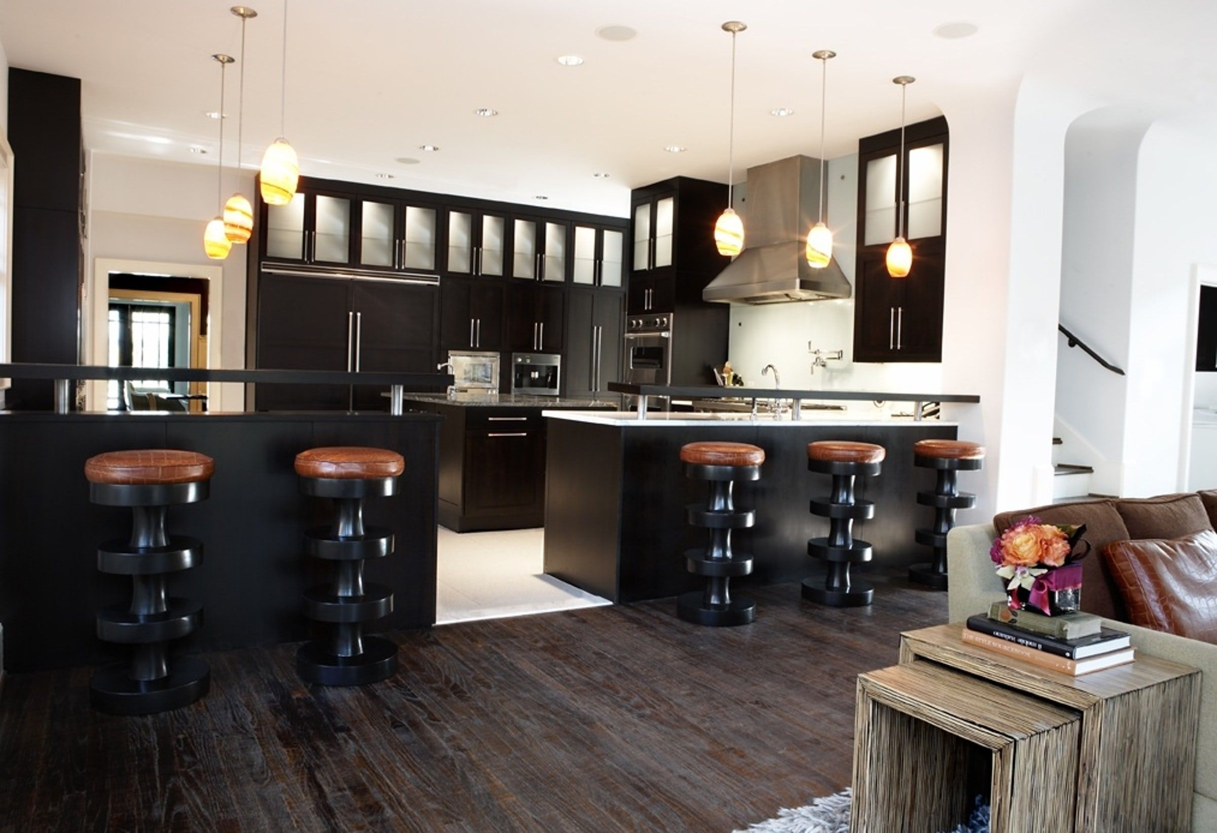Black Design For Kitchen 30 Sophisticated Black Kitchen Cabinets Kitchen Designs With Black