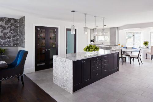 Medium Of Black Kitchen Cabinets
