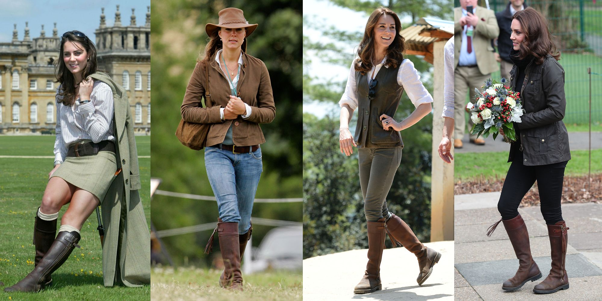 Kate Middleton Recycles Her Favorite Boots Kate