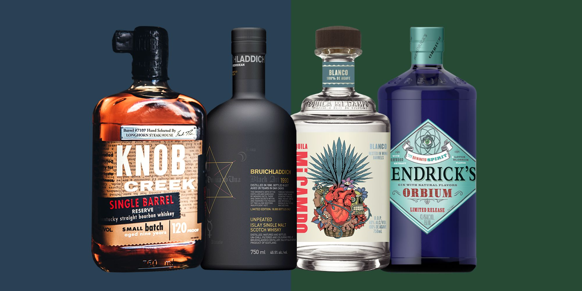 Interesting Bottles 21 Best New Alcohol Bottles Of 2018 Top Liquor Brands To Drink Now