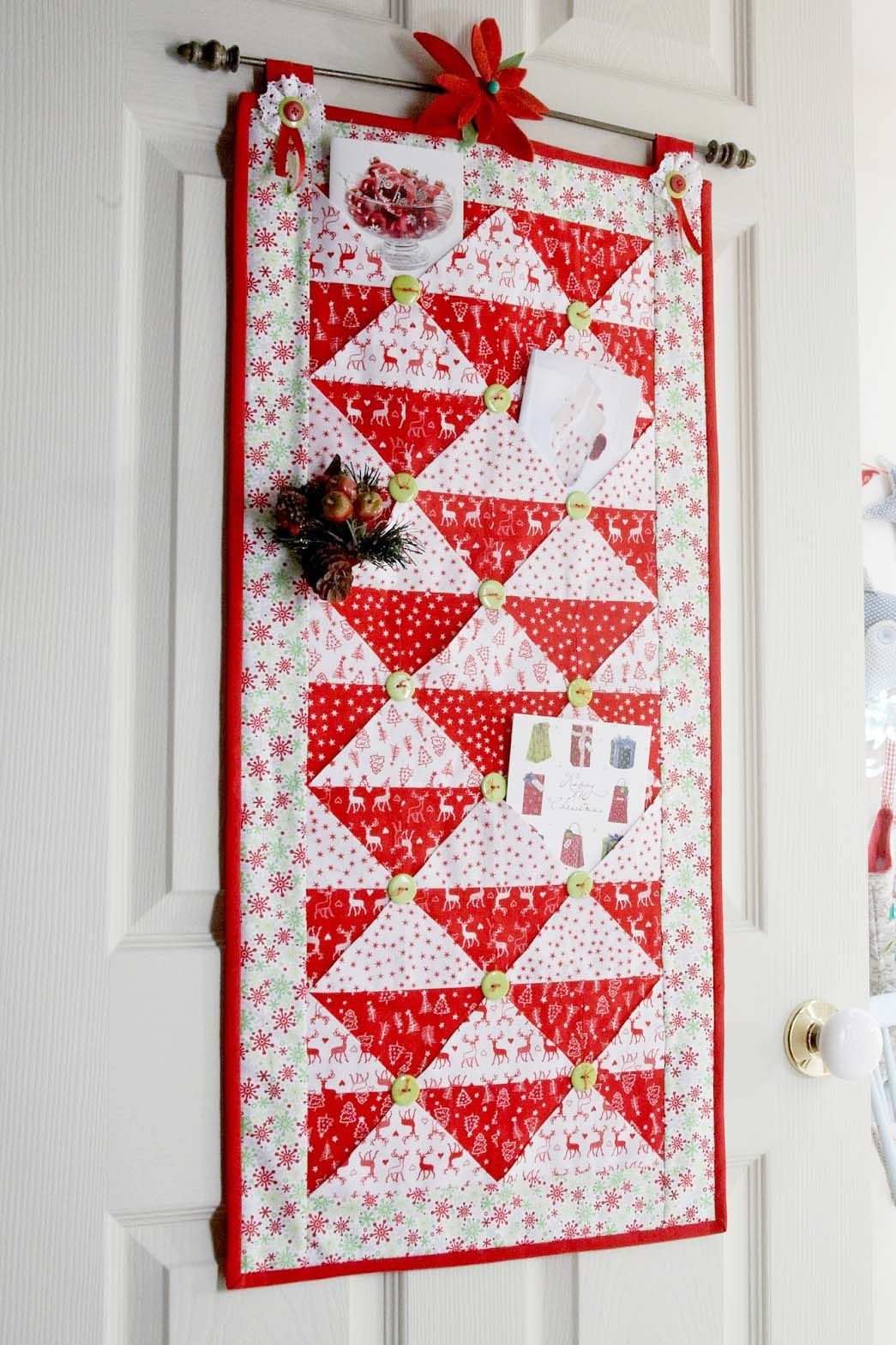 Pinterest Christmas Quilted Wall Hangings 32 Diy Christmas Card Holder Ideas How To Display