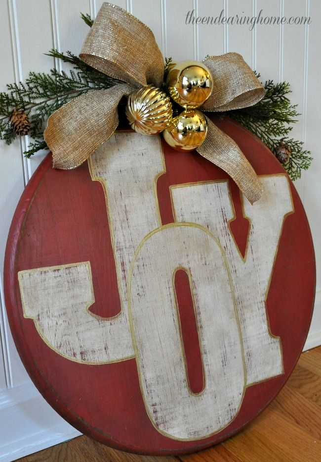 20 Best Christmas Wood Crafts - DIY Holiday Wood Projects and Ideas