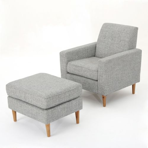 Medium Of Cozy Chair And Ottoman