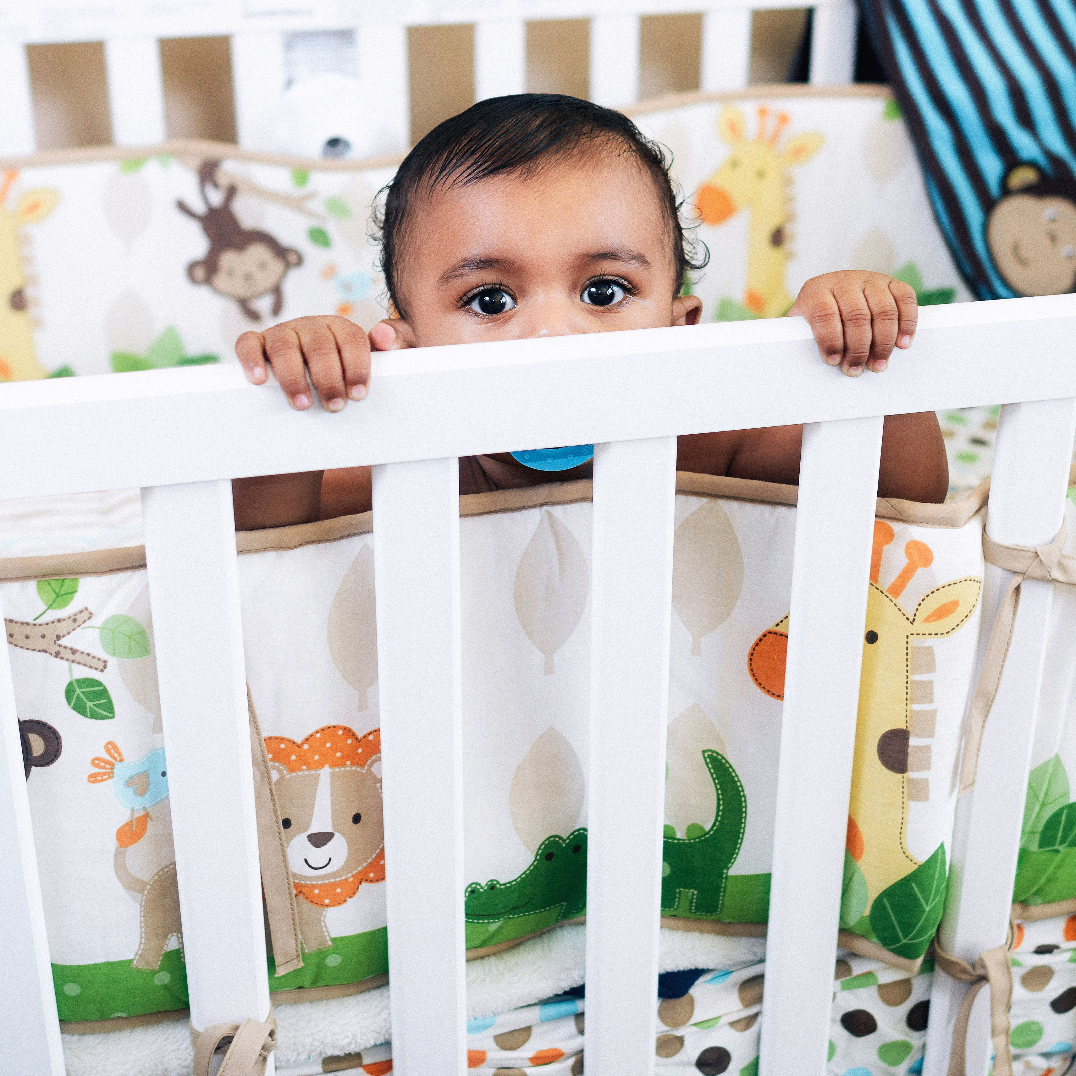 Baby Cots That Attach To Beds Are Crib Bumpers Safe Experts Say Not Even Those