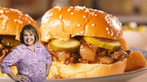 Medium Of Loose Meat Sandwich