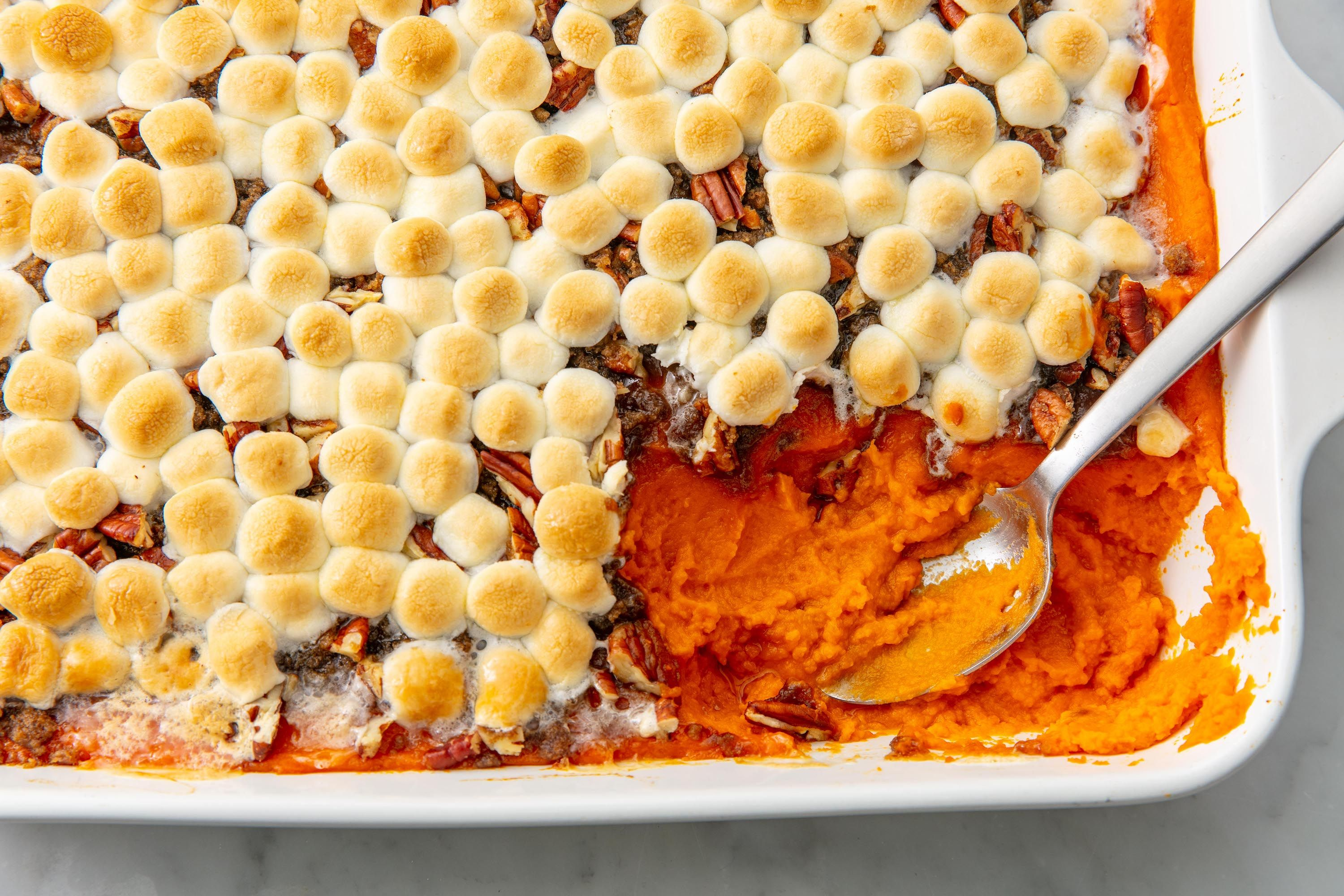 Cuisine Yam Sweet Potato Casserole With Marshmallows