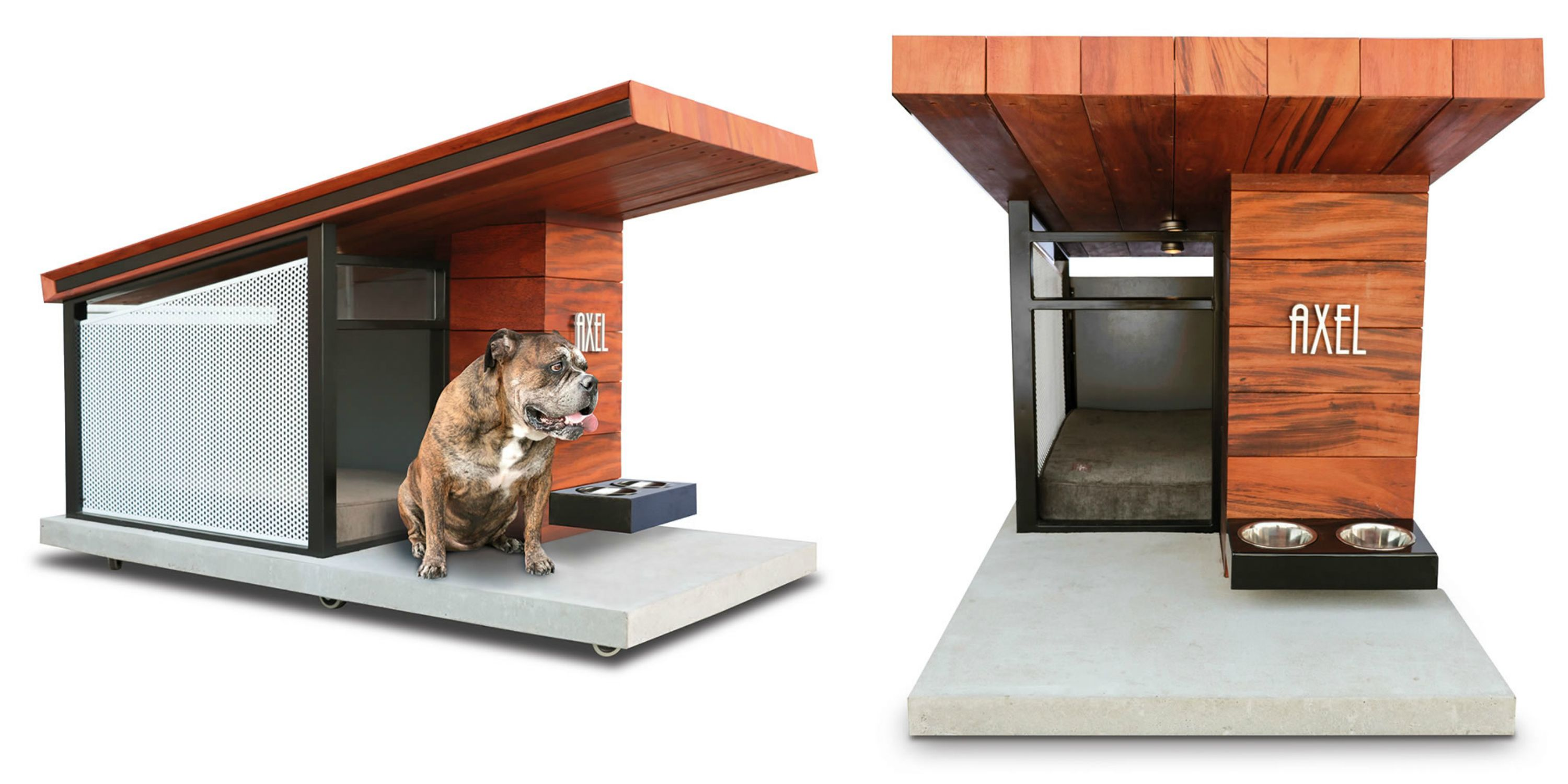 Dog House This Hammacher Schlemmer Dog House Was Inspired By Frank Lloyd
