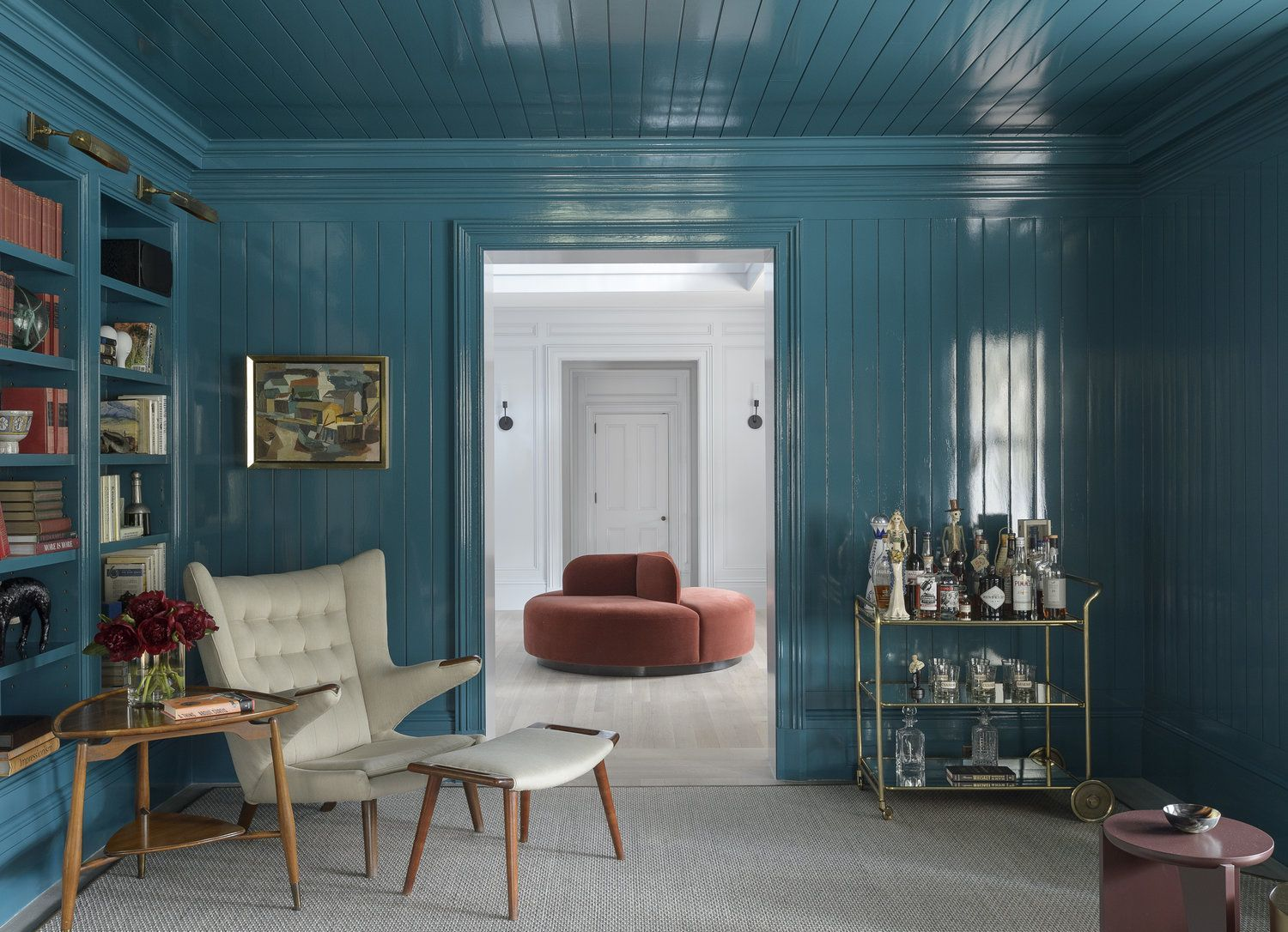 What Color To Paint Paneling 11 Wood Wall Paneling Makeover Ideas How To Update And Paint