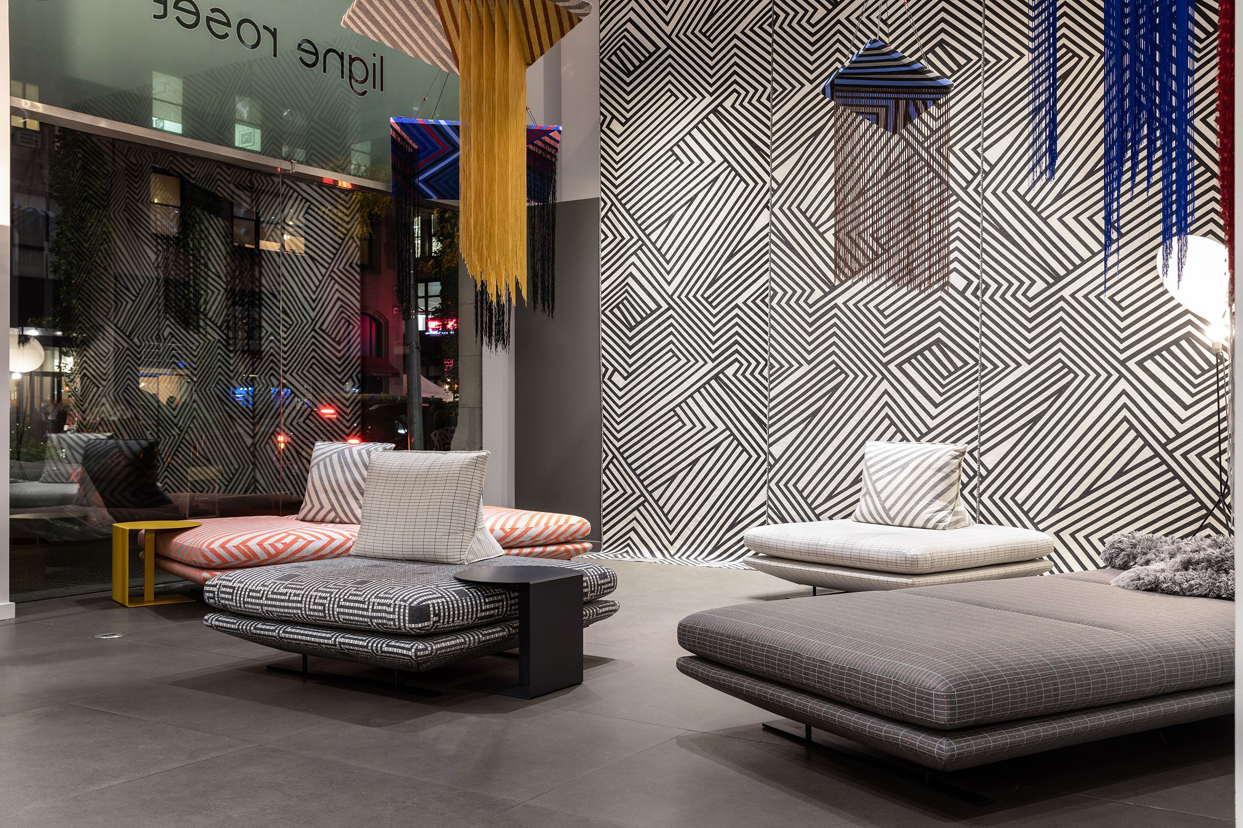 Liz Collins Fabric Collection At Ligne Roset New York Flagship