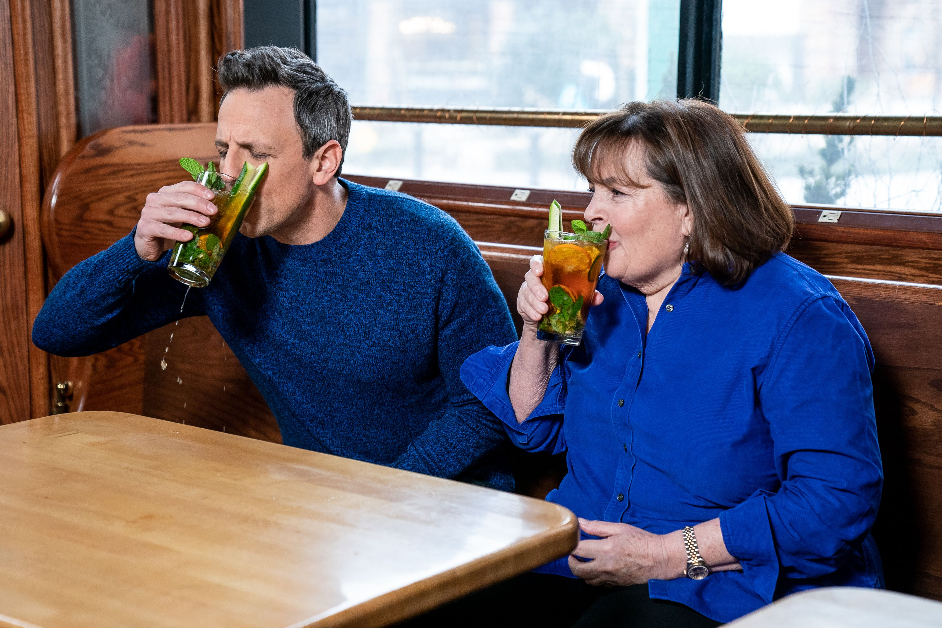 Ina Garten Bars Ina Garten Took Seth Meyers Day Drinking