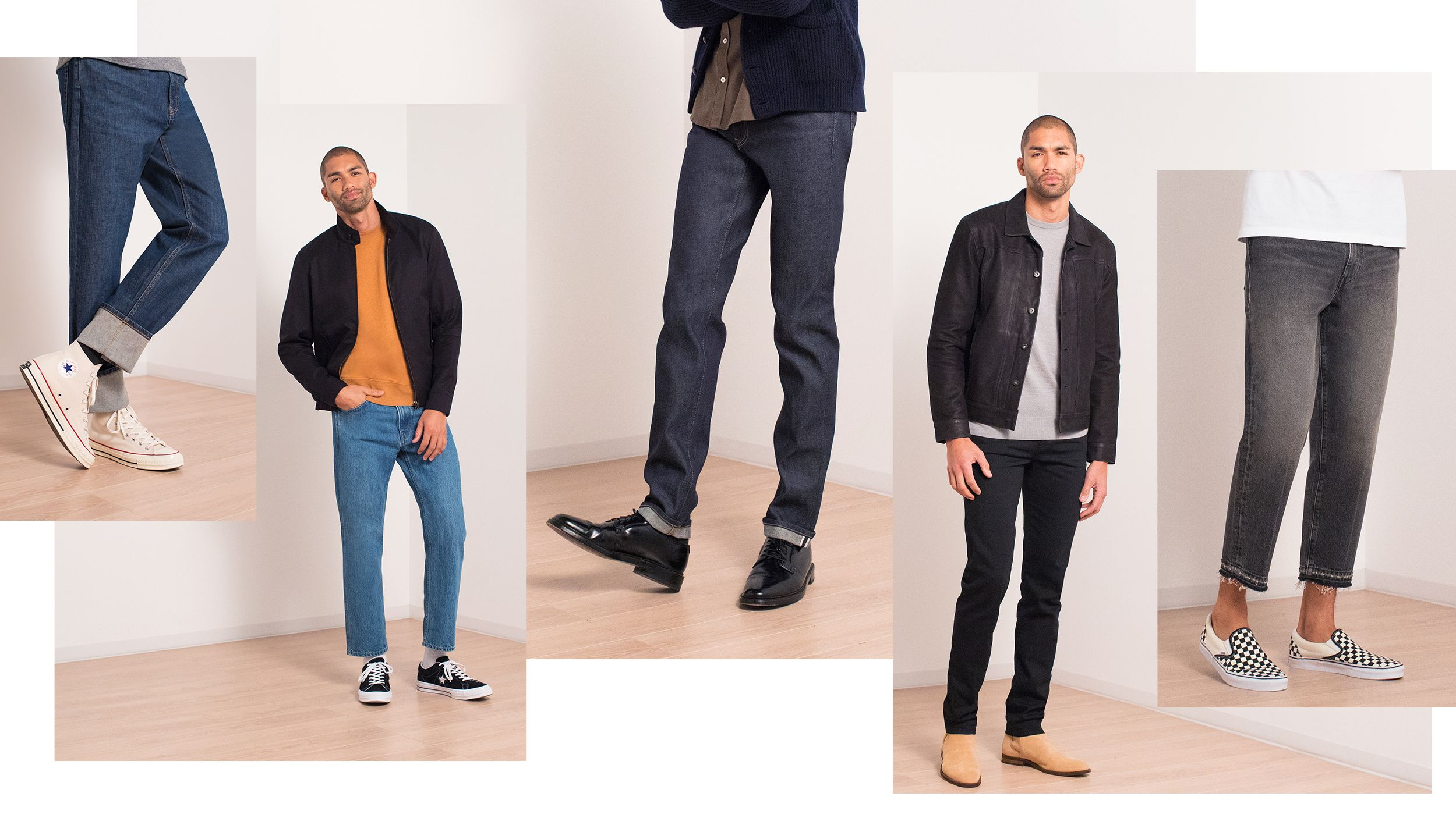 Your Guide To Denim Inseams How Jeans Should Fit T