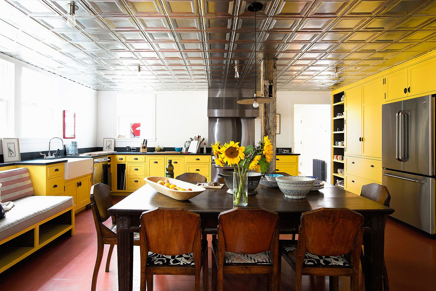 Yellow Kitchen Design Ideas 21 Yellow Kitchen Ideas Decorating Tips For Yellow Colored Kitchens