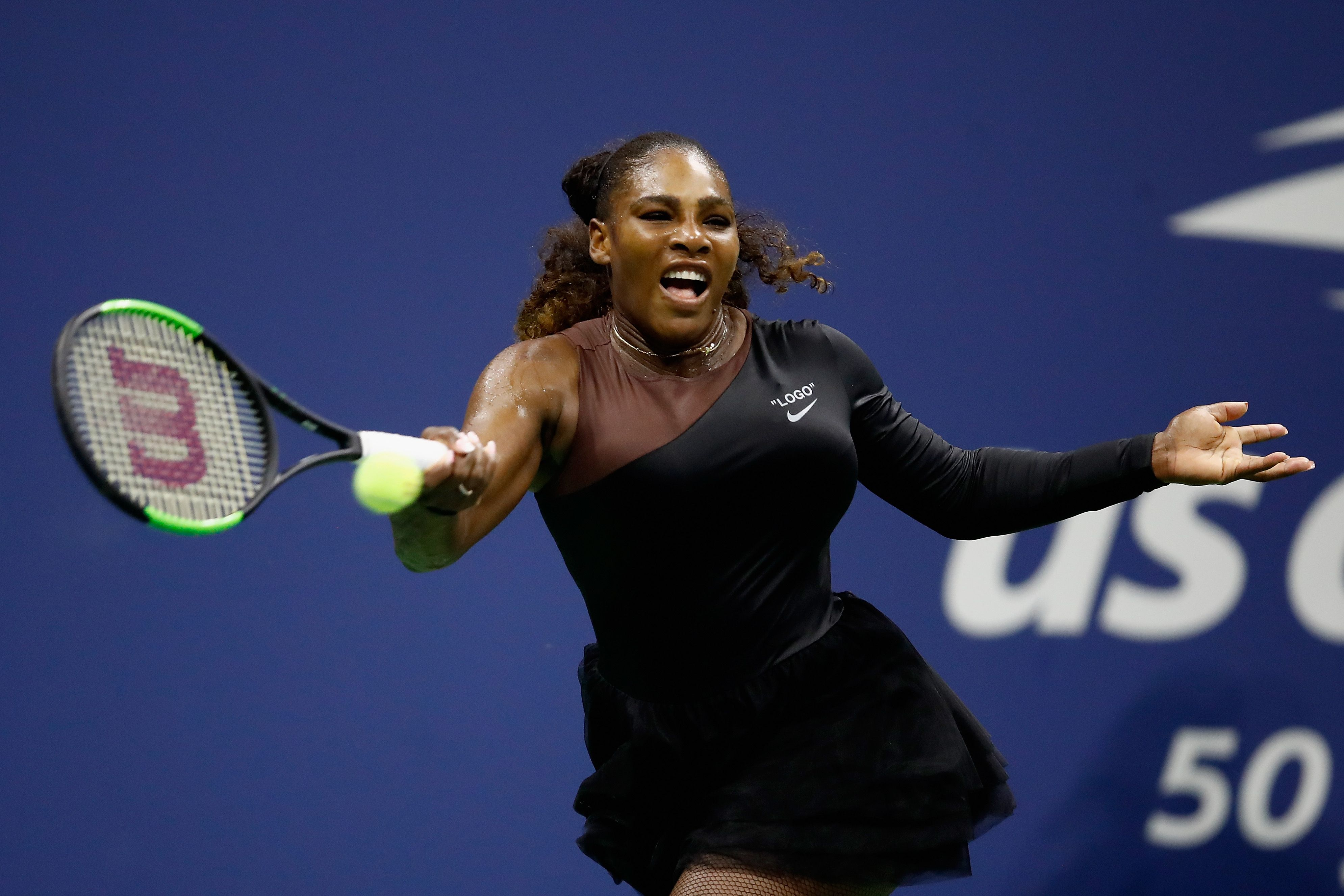 Weekend Wallpaper Hd Serena Williams Wears Off White X Nike Queen Collection