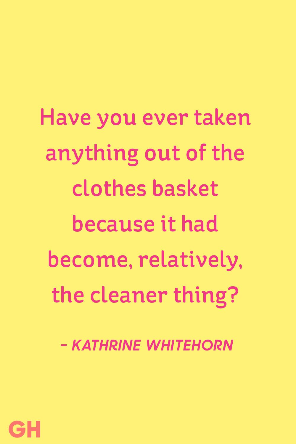 Clothes Quotes 15 Funny Cleaning Quotes Famous Quotes About A Clean House