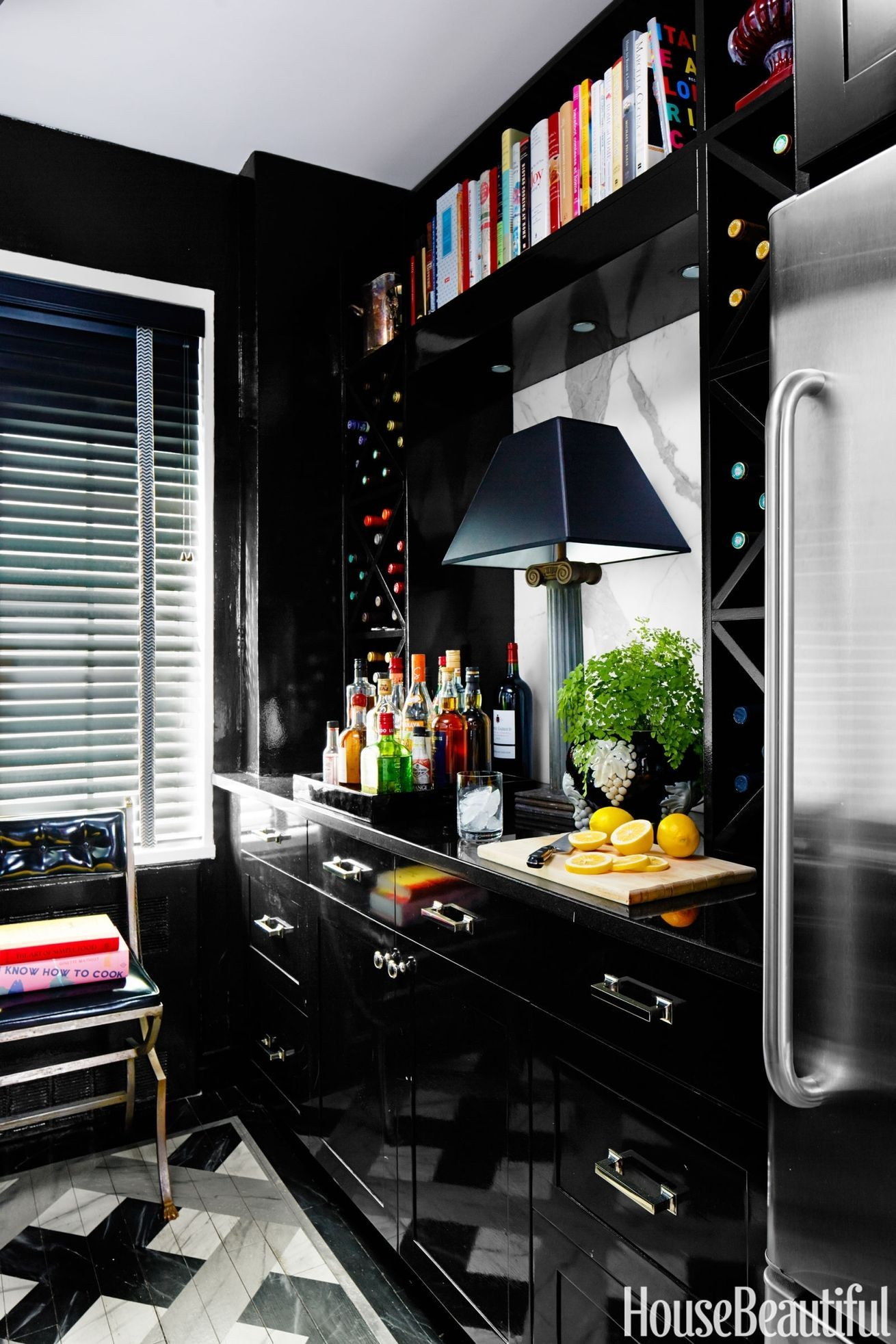 Black Design For Kitchen 11 Black Kitchens Black Cabinet And Backsplash Ideas