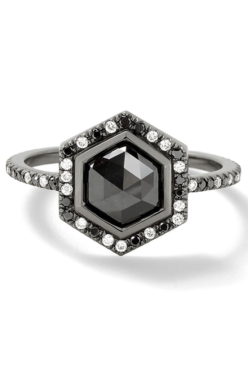 Black Diamond 20 Black Diamond Engagement Rings For Proposing To Unique Brides