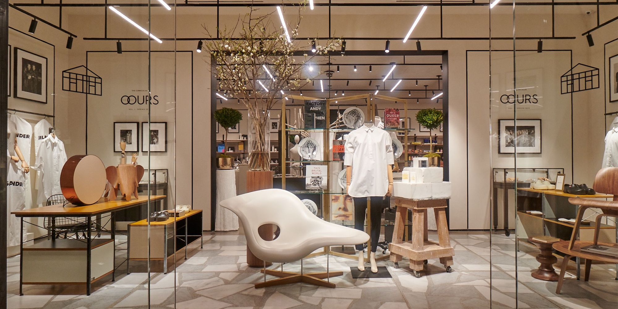 Der Keller Shop Explore The Conservatory A Chic Concept Store At Hudson Yards