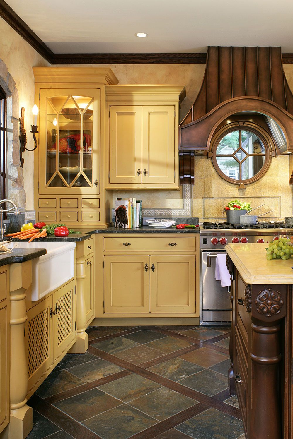 Mustard Color Paint For Kitchen 21 Yellow Kitchen Ideas Decorating Tips For Yellow Colored Kitchens