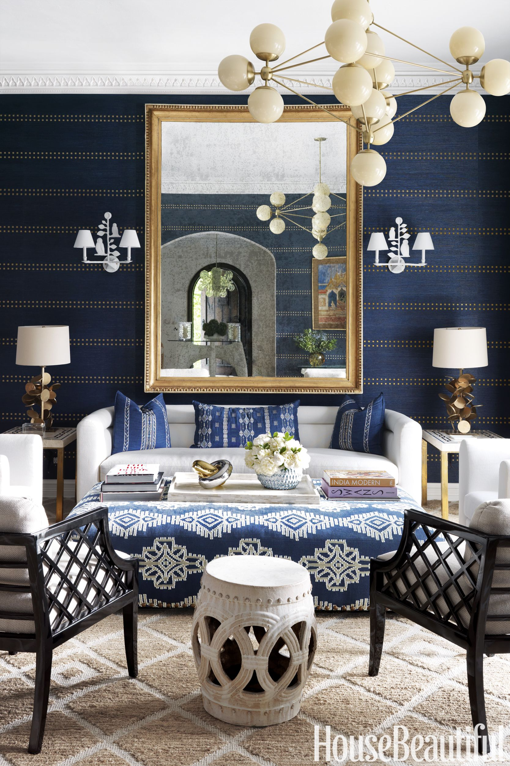 Grey White And Blue Living Room 26 Best Blue Rooms Decor Ideas For Light And Dark Blue Rooms