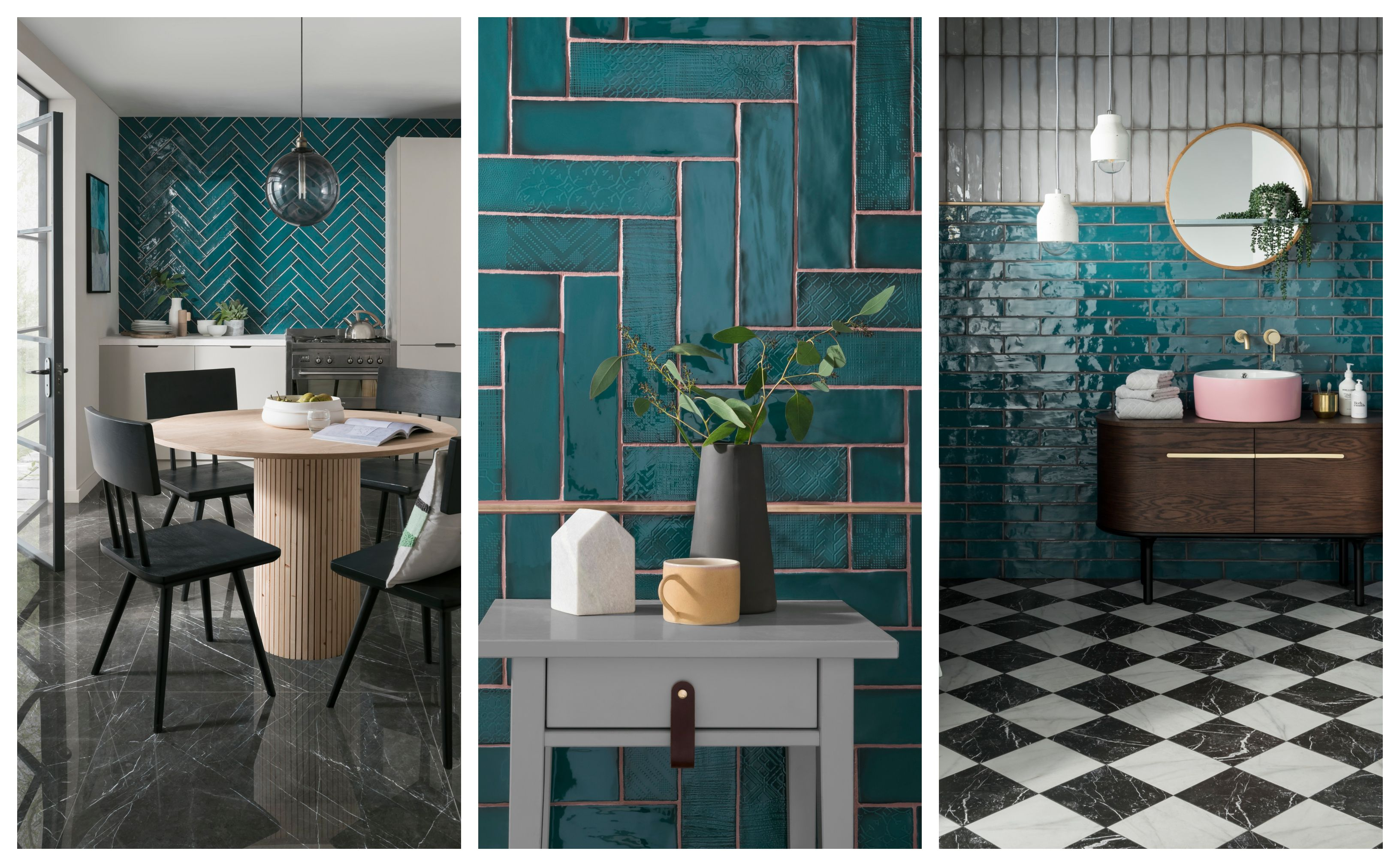 Topps Tiles Lampas Peacock Unveiled As Tile Of The Year 2019 Wall Tiles