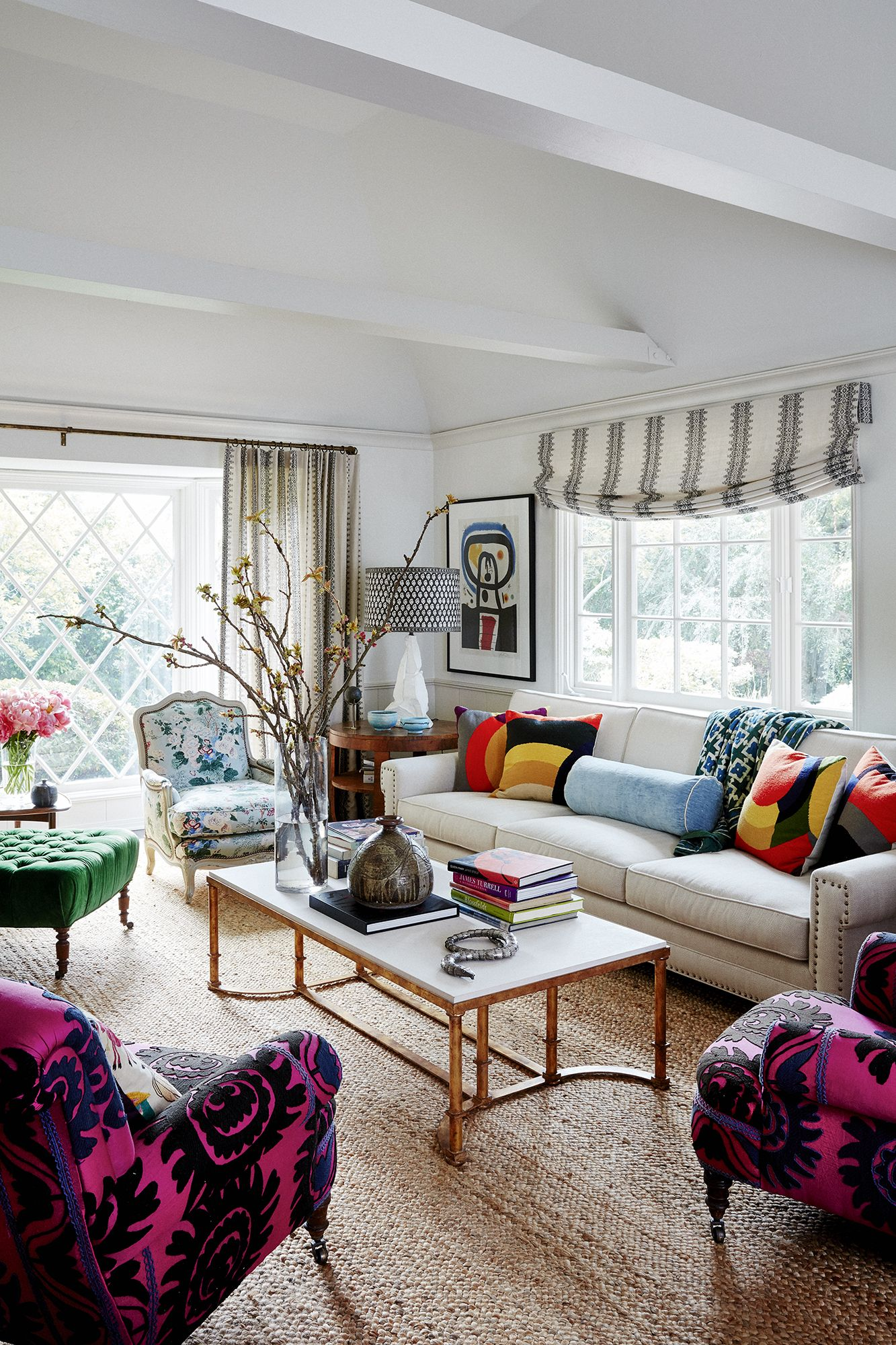 Remodel Designer Minnie Driver's Hollywood Hills House Tour - Bohemian Decor