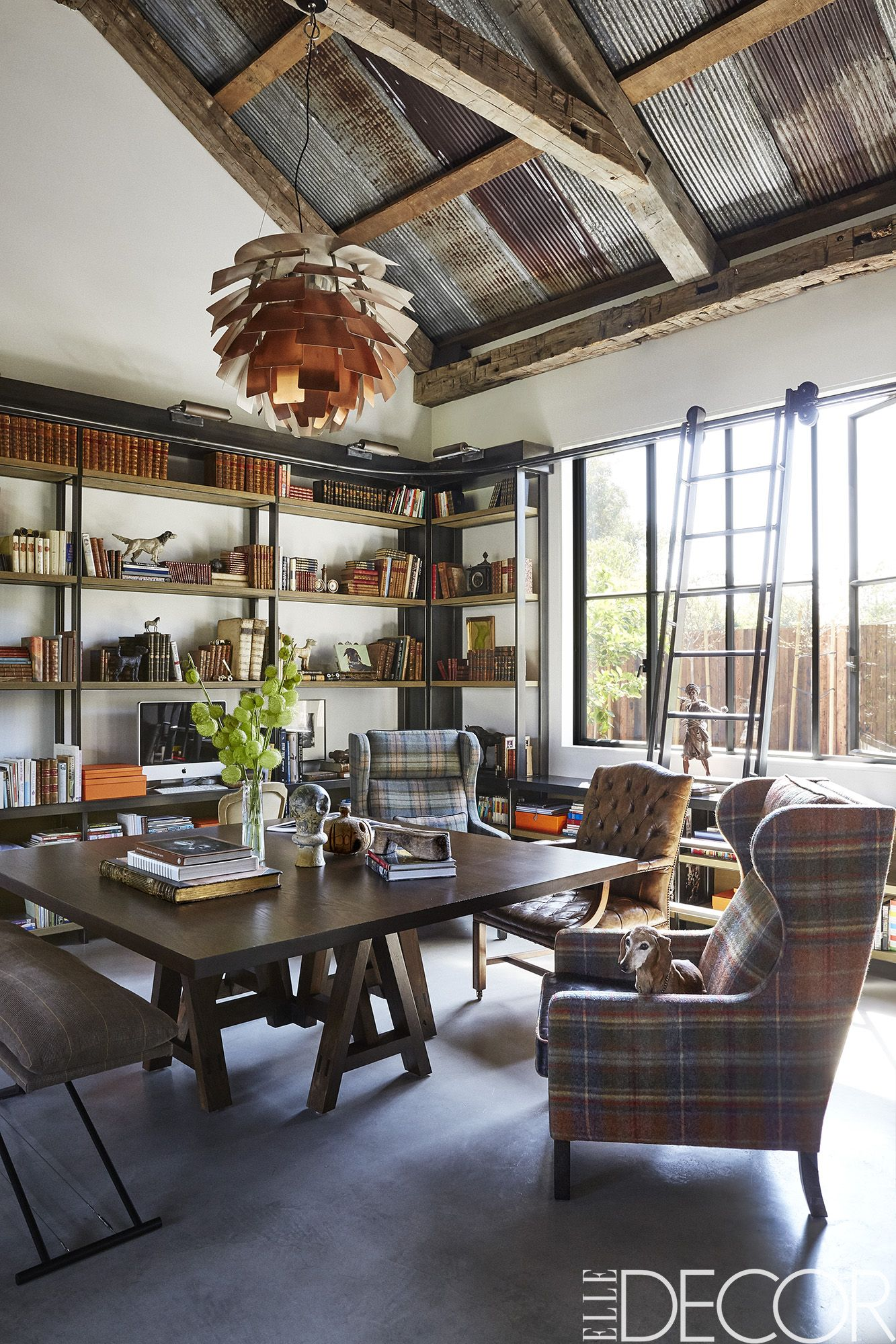 Poul Henningsen A Contemporary Country Home In Los Angeles - Farmhouse