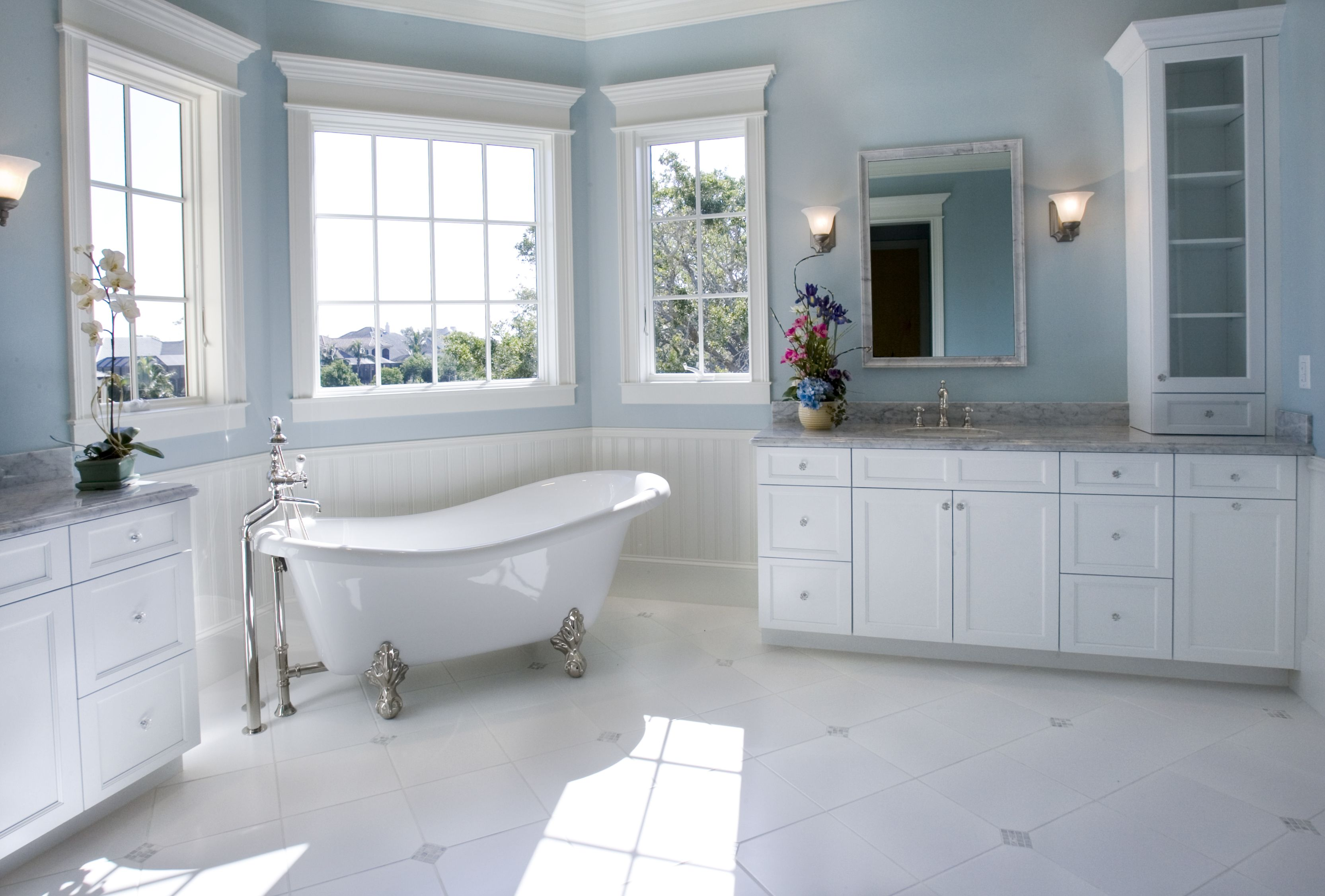 10 Bathroom Flooring Ideas Types Of Bathroom Flooring